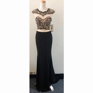 Cinderella 8786 Black Dress Size 6